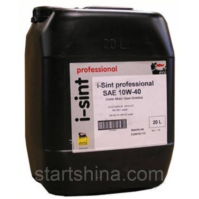 ENI i-Sint Professional 10W-40 (20л) Полусинтетическое моторное масло