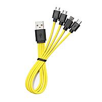 Кабель USB - microUSB x4 ZNTER ZNT L-14, фото 1