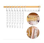 Вешалка-органайзер для одежды Wonder Hanger (Чудо-вешалка), цвет белый