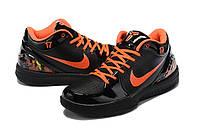 Мужские Баскетбольные кроссовки Nike Kobe 4 Pronto(Black/orange), фото 1