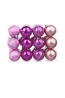 Новогодние украшения Елочные шары 24шт Melinera
