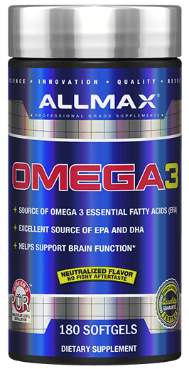Allmax Omega 3 180 softgels