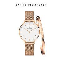 Часы и браслет Набор Daniel Wellington Classic Petite Melrose DW копия, фото 1