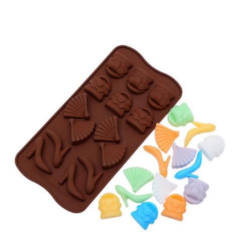 Фигурная форма для конфет и льда