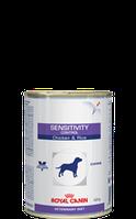 Royal Canin SENSITIVITY CONTROL курица и рис консерва 420 г.