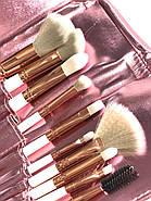 Набор из 10 кистей для макияжа в чехле, фото 3