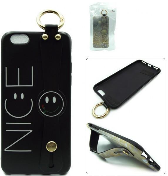 Luxury силиконовая накладка для Apple iPhone X Nice (с рисунком)
