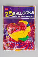 """Воздушные шары """"Сердце"""", 25 шт"""