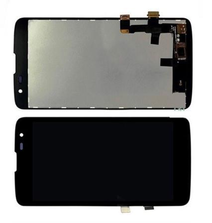 LG K7 X210 дисплей в зборі з тачскріном модуль чорний