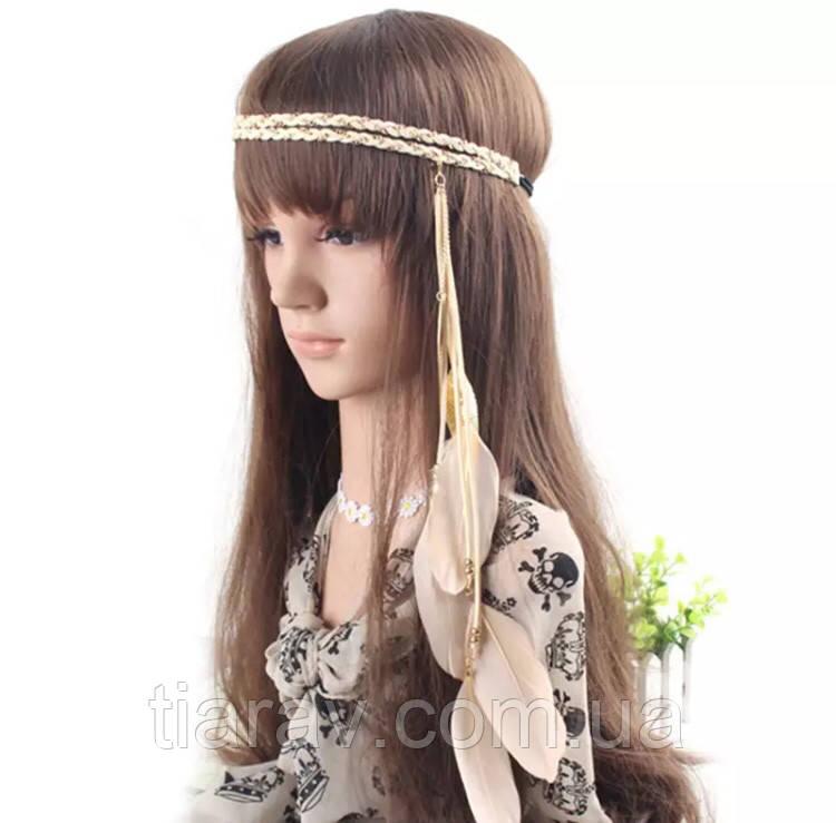 Подвеска повязка ободок для волос Покахонтас тиара