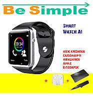 Smart Watch А1 Умные часы + Наушники Apple