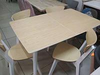 Комплект Сингл + 4 стула Рондо