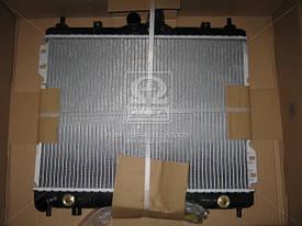 Радиатор охлаждения двигателя Hyundai Getz '2002- АКПП (Nissens) 253101C350