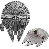 Брошь Корабль Сокол Тысячелетия Millennium Falcon Звёздные войны Star Wars SW 16.72