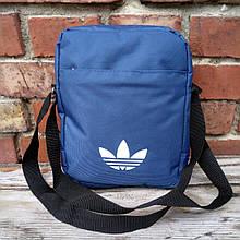 Барсетка сумка Adidas мужская мессенджер три отдела