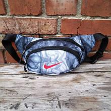 Бананка два відділу, спинка-сітка, сумка на пояс/плече
