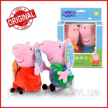 Мягка игрушка Свинка Пеппа, Джордж 19 см, в коробке. Оригинал