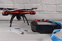 Квадрокоптер 1milion WIFI (переворот на 360гр. , Время полета: до 10 минут) Красный, фото 2