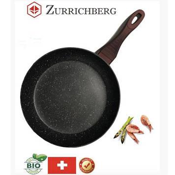 Сковорода Zurrichberg ZBP-7030 с мраморным покрытием, 24 см.