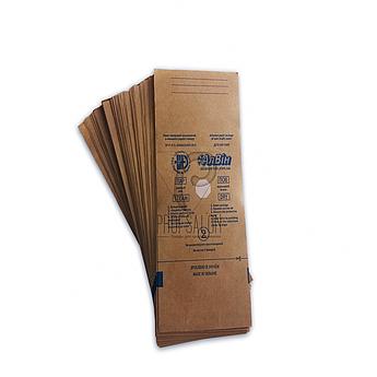 Крафт пакеты для стерилизации 50х170 Алвин для мелких инструментов, для паровой, воздушной, этилен. 100 шт