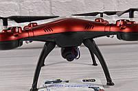 Квадрокоптер 1milion WIFI (переворот на 360гр. , Время полета: до 10 минут) Красный, фото 4