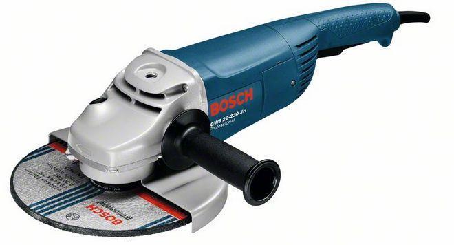 Болгарка Bosch GWS 22-230 JH - 230 мм / 2200 Вт