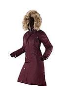 Оригінальна жіноча довга зимова куртка N-7B Eileen Airboss 173000773121 (бордова)