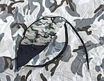 Палатка зимняя KAIDA (Winner) Белый камуфляж 2,5х2,5м, фото 3
