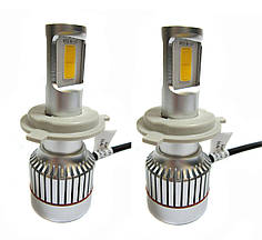 Светодиодные Led лампы автолампы UKC Car Headlight H4 H/L 33W 3000LM 4500-5000K