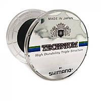 Трёхслойная леска SHIMANO Technium 107430 1/4 PND SPL Line 1074m. 0.30 in blik