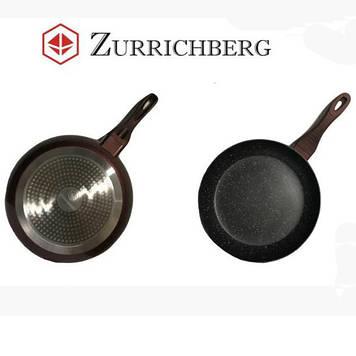 Сковорода Zurrichberg ZBP-7031 с мраморным покрытием, 28 см.