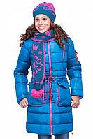 Детское стильное зимнее пальто на подростка  Мика нью вери (Nui Very) купить в Украине