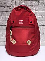Сумка-рюкзак женская городская Tusente красный