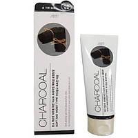 Пилинг-гель Jigott Premium Facial Charcoal Peeling Gel