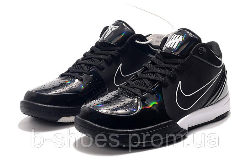 Мужские Баскетбольные кроссовки Nike Kobe 4 Pronto(Black)