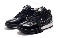 Мужские Баскетбольные кроссовки Nike Kobe 4 Pronto(Black), фото 1