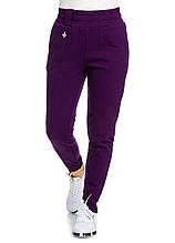 Брюки женские Fluxion фиолетового цвета