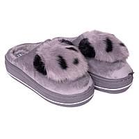 Женские комнатные тапочки Jomix 0176-019 серый