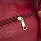 Женская Сумка Тоут из Искусственной Кожи Красная (518-1), фото 7