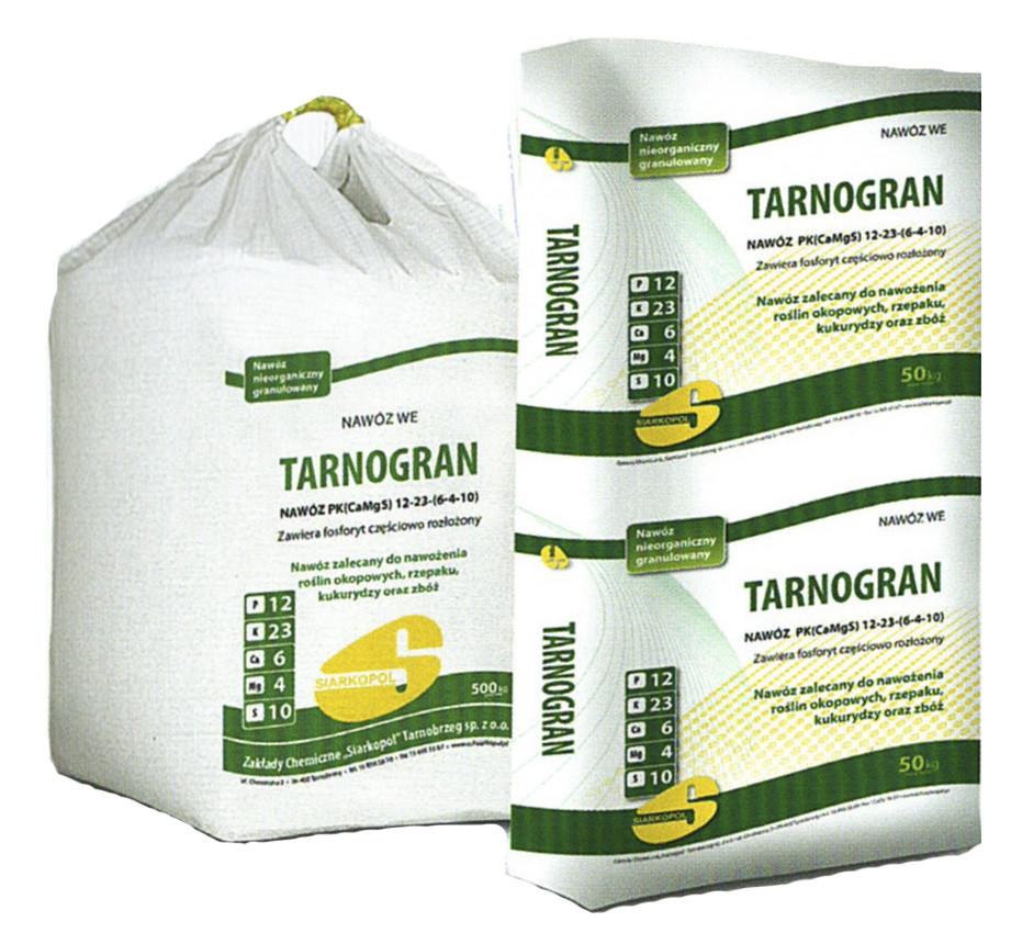 Минеральное фосфорно-калийное удобрение Тарногран PK/Tarnogran PK, Польша
