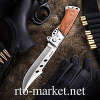 Нож складной, с удлиненным лезвием(наваха)