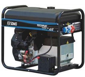 Трехфазный бензиновый генератор SDMO Technic 15000 TE (11 кВт)