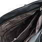 Женская Сумка Тоут из Искусственной Кожи Черная (555), фото 6