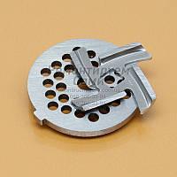 Комплект нож и решетка для мясорубки Domotec, фото 1