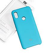 Силиконовый чехол на Xiaomi Redmi S2 Soft-touch Sea Blue