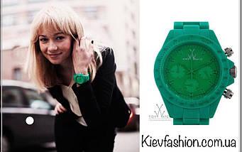 Часы Оригинальные Toy Watch (ToyWatch, Той Вотч) зеленые годинник, фото 3