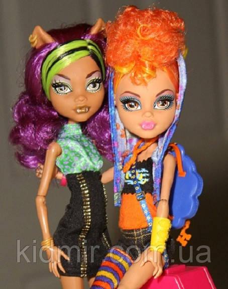 Набір ляльок Monster High Клодін і Хоулін Вульф Clawdeen Howleen Монстер Хай Школа монстрів