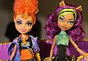 Набір ляльок Monster High Клодін і Хоулін Вульф Clawdeen Howleen Монстер Хай Школа монстрів, фото 5