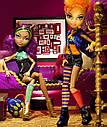 Набор кукол Monster High Клодин и Хоулин Вульф Clawdeen Howleen Монстер Хай Школа монстров, фото 7