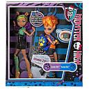 Набор кукол Monster High Клодин и Хоулин Вульф Clawdeen Howleen Монстер Хай Школа монстров, фото 10